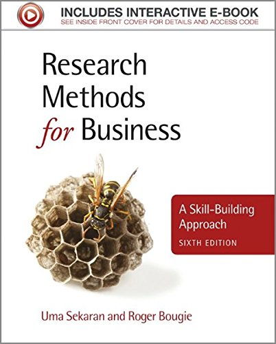 Research Methods for Business : A Skill-Building: Bougie, Roger