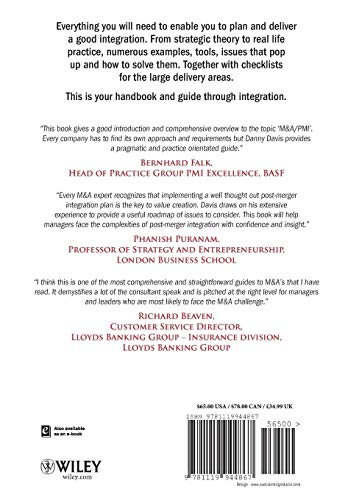 9781119944867: M&A Integration: How To Do It. Planning and delivering M&A integration for business success