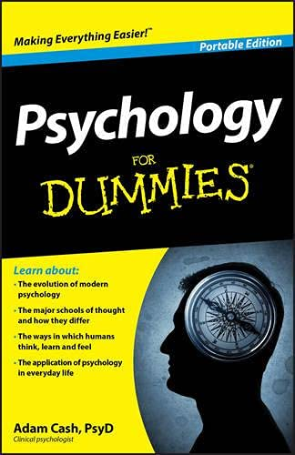 9781119945574: Psychology for Dummies, Portable Edition
