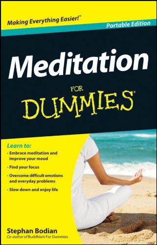 Meditation For Dummies, Portable Edition: John Wiley & Sons Inc