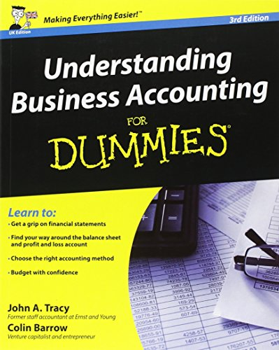 9781119951285: Understanding Business Accounting For Dummies, 3rd Edition (UK Edition)