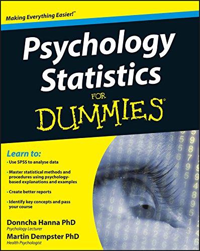 Psychology Statistics For Dummies: Hanna, Donncha; Dempster,