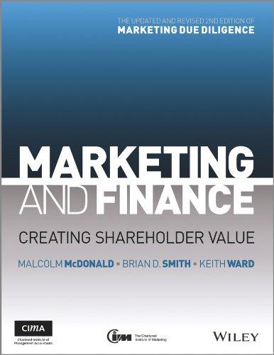 9781119953388: Marketing and Finance - Creating Shareholder Value 2E
