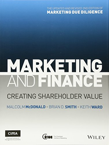 9781119953388: Marketing and Finance: Creating Shareholder Value