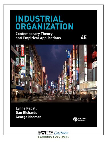 9781119960300: Industrial Organization: Contemporary Theory and Empirical Applications