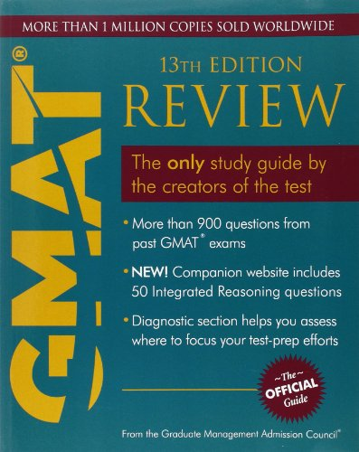 GMAT REVIEW(13TH EDITION): Ben She