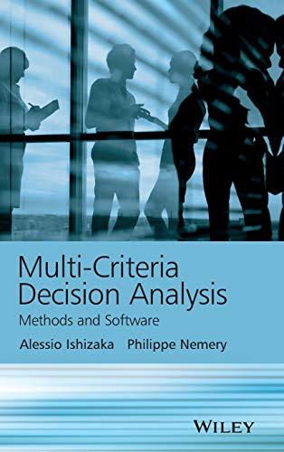 9781119974079: Multi-Criteria Decision Analysis: Methods and Software