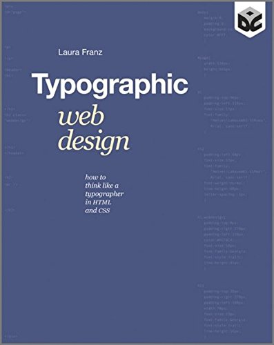 9781119976875: Typographic Web Design: How to Think Like a Typographer in HTML and CSS