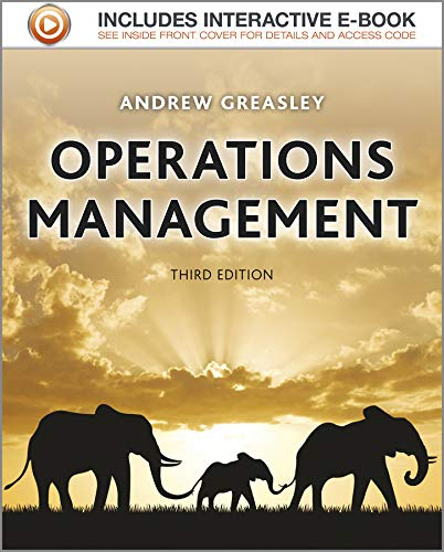 Operations Management: Greasley, Andrew