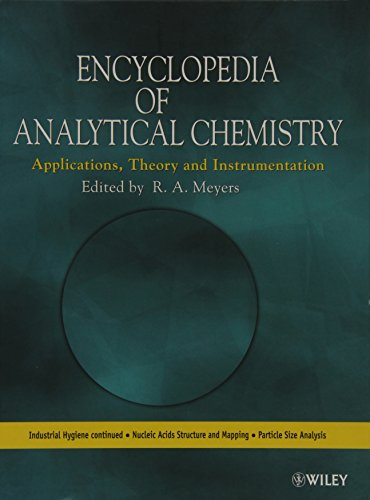 9781119991205: Encyclopedia of Analytical Chemistry: Applications, Theory and Instrumentation