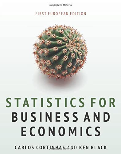 Statistics for Business and Economics: Cortinhas, Carlos