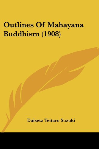 9781120015389: Outlines of Mahayana Buddhism (1908)