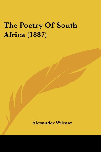 9781120038326: The Poetry of South Africa (1887)