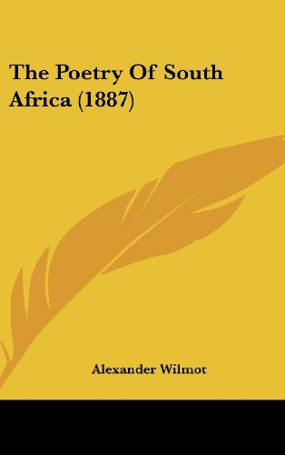 9781120080035: The Poetry of South Africa (1887)