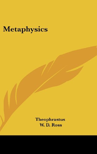 9781120107763: Metaphysics