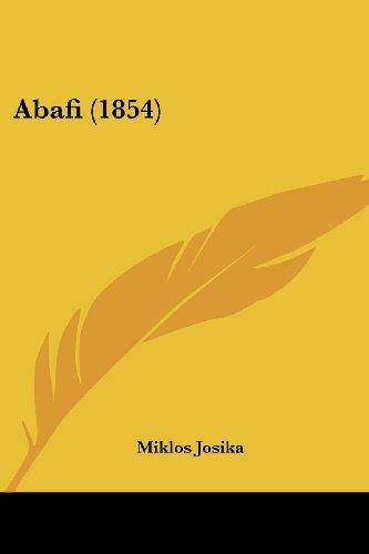 9781120136244: Abafi (1854) (Hungarian Edition)