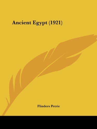 9781120153845: Ancient Egypt (1921)
