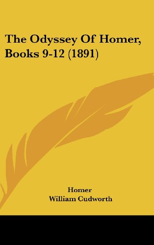 9781120209962: The Odyssey of Homer, Books 9-12 (1891)