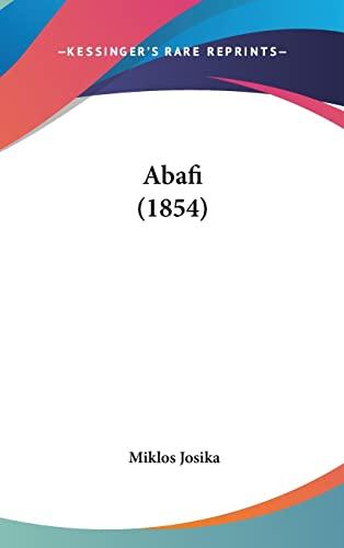 9781120256096: Abafi (1854) (Hungarian Edition)