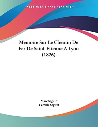 Memoire Sur Le Chemin De Fer De