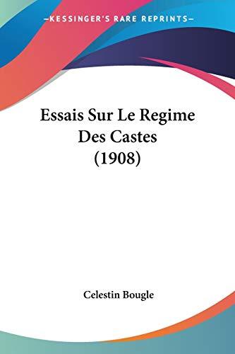 9781120473370: Essais Sur Le Regime Des Castes (1908)