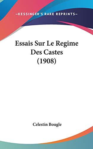 9781120564061: Essais Sur Le Regime Des Castes (1908)