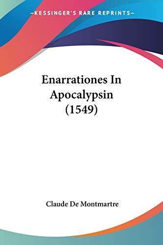 9781120615886: Enarrationes In Apocalypsin (1549) (Latin Edition)