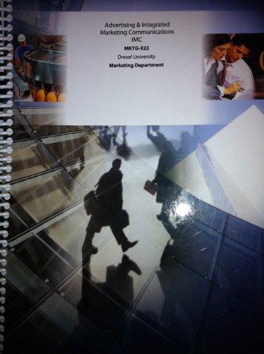 Advertising & Integrated Marketing Communications (MKTG-322, Drexel University): IMC