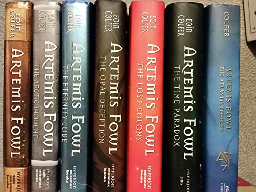 9781121221550: Artemis Fowl Complete Series Set Books 1-7 : Artemis Fowl / the Arctic Incident / the Eternity's Code / the Opal Deception / the Lost Colony / the Time Paradox / the Atlantis Complex