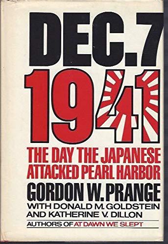 9781121224858: December 7 1941 the Day the Japanese Att