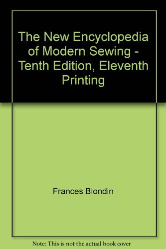 9781121226654: The New Encyclopedia of Modern Sewing.