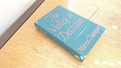 The Valley of Decision (1121285236) by Marcia Davenport