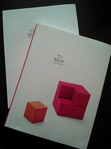 9781121293960: MAT 126 Mathematics in Our World Vol. 1 & 2