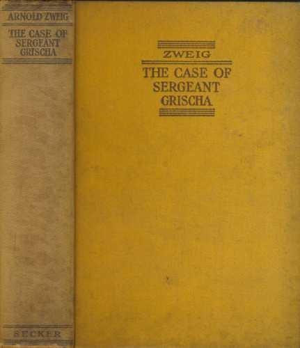 9781121364172: The Case of Sergeant Grischa