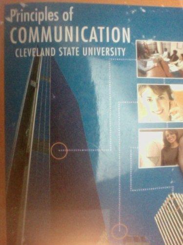 9781121478480: Principles of Communication : Cleveland State University