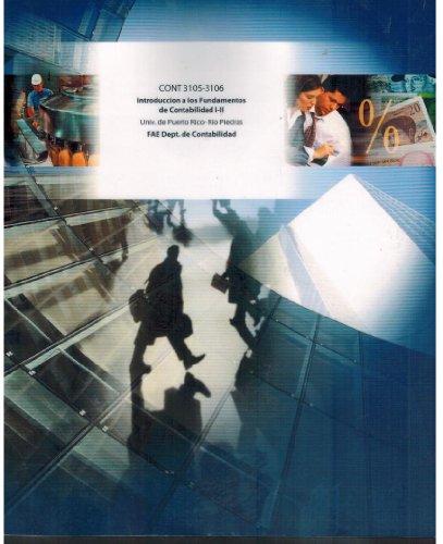 9781121577077: Introduccion a Los Fundamentos de Contabilidad I-II (Cont 3105-3106)