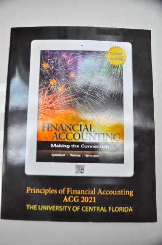 9781121587236: Financial Accounting: Making the Connection - Principles of Financial Accounting ACG 2021 (The University of Central Florida)