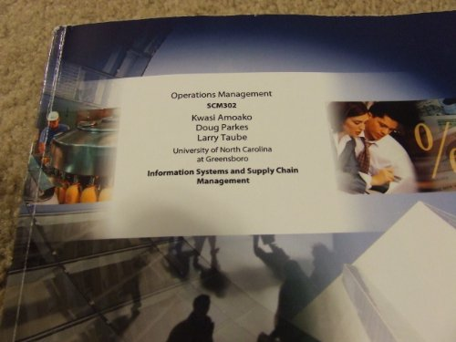 9781121665309: Operations and Supply Management: The Core, 2/e (Custom Edition for Unc-greensboro)