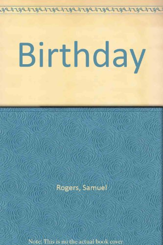 9781121698741: The Birthday
