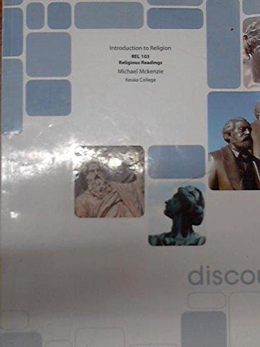 9781121774117: Introductio to Religion: REL 103 Religious Readings (Keuka College)