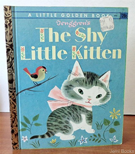 9781121827998: The Shy Little Kitten (Little Golden Books)