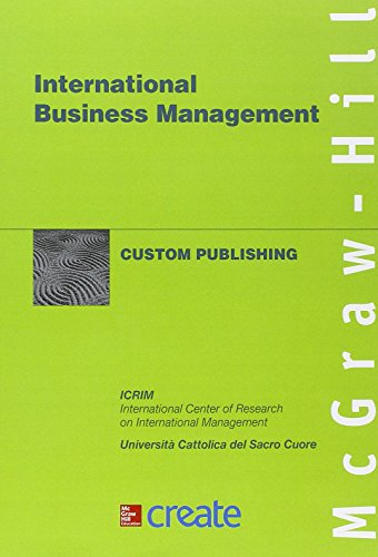 9781121958074: International business management (Create)