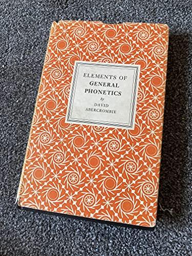 9781121970861: Elements of General Phonetics