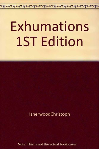 9781122021920: Exhumations 1ED 1st Edition