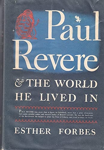 9781122088305: Paul Revere & the World He Lived In