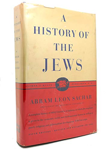 9781122121286: A History of the Jews