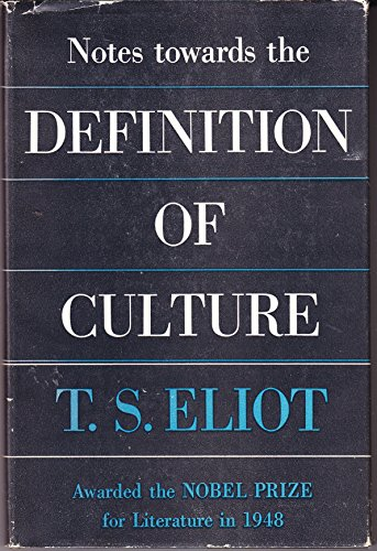 9781122127127: Notes Toward the Definition of Culture