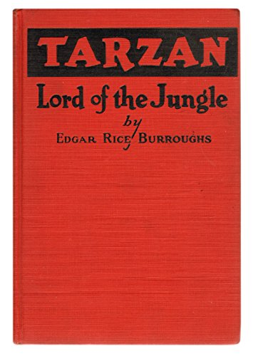 9781122136303: Tarzan Lord of the Jungle