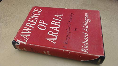 9781122222594: Lawrence of Arabia - A Biographical Enquiry