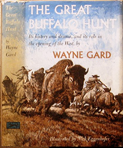 9781122227193: The great buffalo hunt